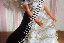 robe de poupée au crochet