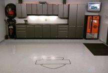 Garage & floor
