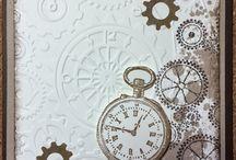 clock cards