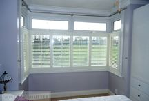 Bedroom Window Shutters  / Our collection of bespoke interior window shutters instantly add elegance to complete any bedroom design