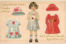 Paper dolls - Printables