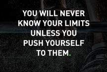 Fitness motivational quotes / Fitness motivational quotes to keep you going strong.