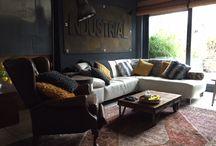 Industrial Room / Woonkamer,Vintage,Industrial inrichting.