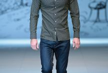 Men cassual catwalk