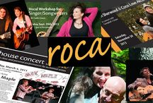 ROCA House - Concerts, Workshops.& Events / House concerts, events and arts related workshops in beautiful East Preston, next to Dartmouth / Halifax area of Nova Scotia http://www.ROCAMusic.ca