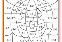 číselné omaľovánky