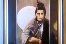 Samurai Art, Paintings / Samurai Art: paintings and prints by Tatiana Basova, dedicated to the theme of samurai and bushido.