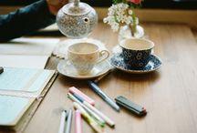Tea time... Hora do chá