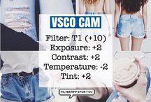 VSCO Editing tips