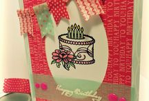 Stamped Birthday Cards / by Damsel of Distressed Cards