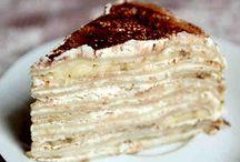 Торты / Рецепты самых вкусных тортиков здесь!