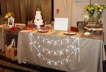 Our table at the Southern Girls Bridal Show