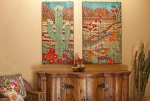 Custom Tile Work / Custom hand glazed tile creations by Carly Quinn Designs