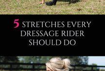 Övning för ryttare