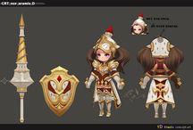 3D Model Character Chibi
