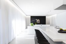 Interior: Black & white