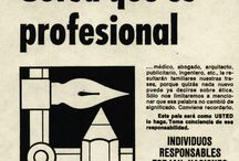 Década del '70 / Campañas gráficas realizadas por el Consejo Publicitario Argentino en los años '70.