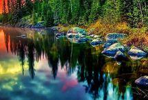 Příroda, chráněná území