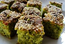 Savoury Baked cake (Methi Lagan) / Savory Baked with with herbs