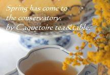 Lovely tea time.