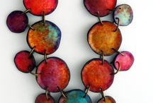 Vivid Necklaces / Colorful necklaces. Polymer clay necklaces and more.