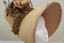 1820's Women's Bonnets