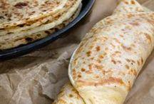 Tapioca gluten free wraps