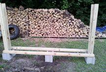 Uložiště na dřevo