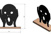 Cuadros Chapa Metálica / En esta carpeta expongo los diseños que realizo en chapa de acero.