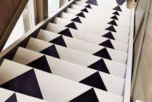 tangga hitam putih