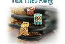 Lovely Beaded Rings