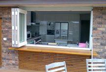 bucatarie cu terasa