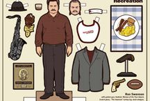 I *heart* Ron Swanson  / by Nicole Sharer