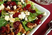 Salads / Cranberry feta salad