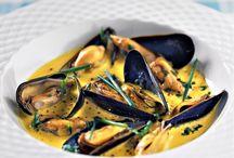Moules, Crevettes