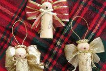 handmade vianoce / Papierove,latkove,prirodne materialy a napady