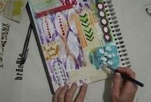 Craftiness mixed media techniques