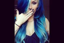 Blue hair <3 Totally love it