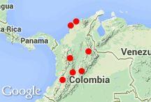 un recorrido por Colombia / mapa interactivo de la clase 8c, curso 2013/14