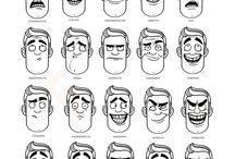 ritratti umoristici