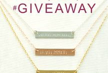 Giveaway / Danique Jewelry Giveaways