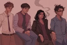 The Marauders, Lily and Snape