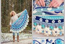 Shawl - crocheted
