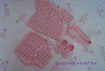 Baby crochet: my creations / Handmade by Arantza Rivas baby & children crochet/Handmade by Arantza Rivas crochet para bebés y niñ@s / by Handmade by Arantza Rivas