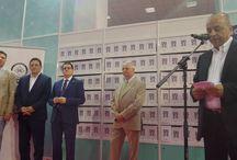 """Monografia SRI - 25 de ani /  Lansarea """"Monografiei SRI - 25 de ani"""" la Salonul Internaţional de Carte """"Bookfest 2015""""."""