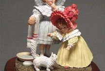 Figurines & such / by Leslie
