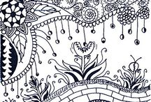zentangle / figuras hermosas