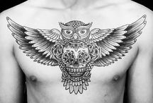 tattoo chest men