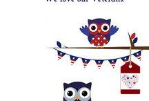 Holidays / Patriotic themed holiday greetings
