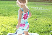 genaaide kinderkleren / sew  children clothes